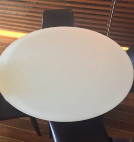 Tavolo dopo