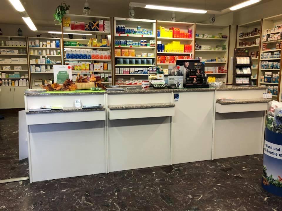 Riqualifica bancone farmacia